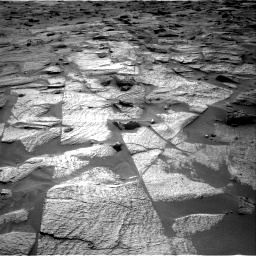 Nasa's Mars rover Curiosity acquired this image using its Right Navigation Camera on Sol 3217, at drive 3356, site number 90