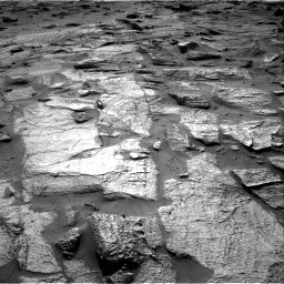 Nasa's Mars rover Curiosity acquired this image using its Right Navigation Camera on Sol 3217, at drive 3380, site number 90