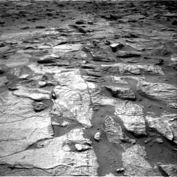 Nasa's Mars rover Curiosity acquired this image using its Right Navigation Camera on Sol 3217, at drive 3386, site number 90
