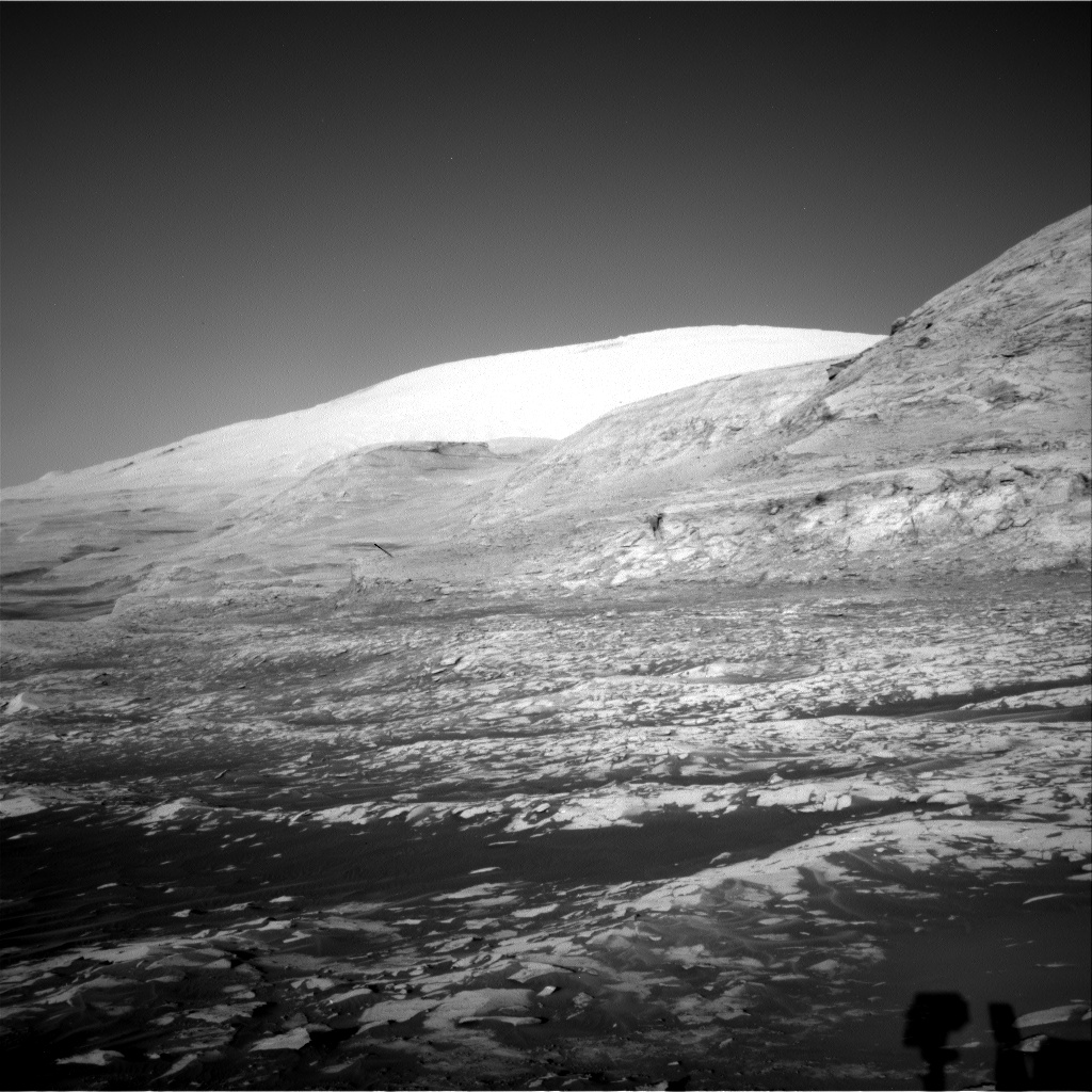 Nasa's Mars rover Curiosity acquired this image using its Right Navigation Camera on Sol 3217, at drive 0, site number 91