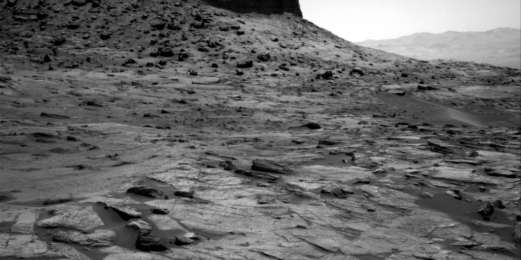 Nasa's Mars rover Curiosity acquired this image using its Right Navigation Camera on Sol 3218, at drive 0, site number 91