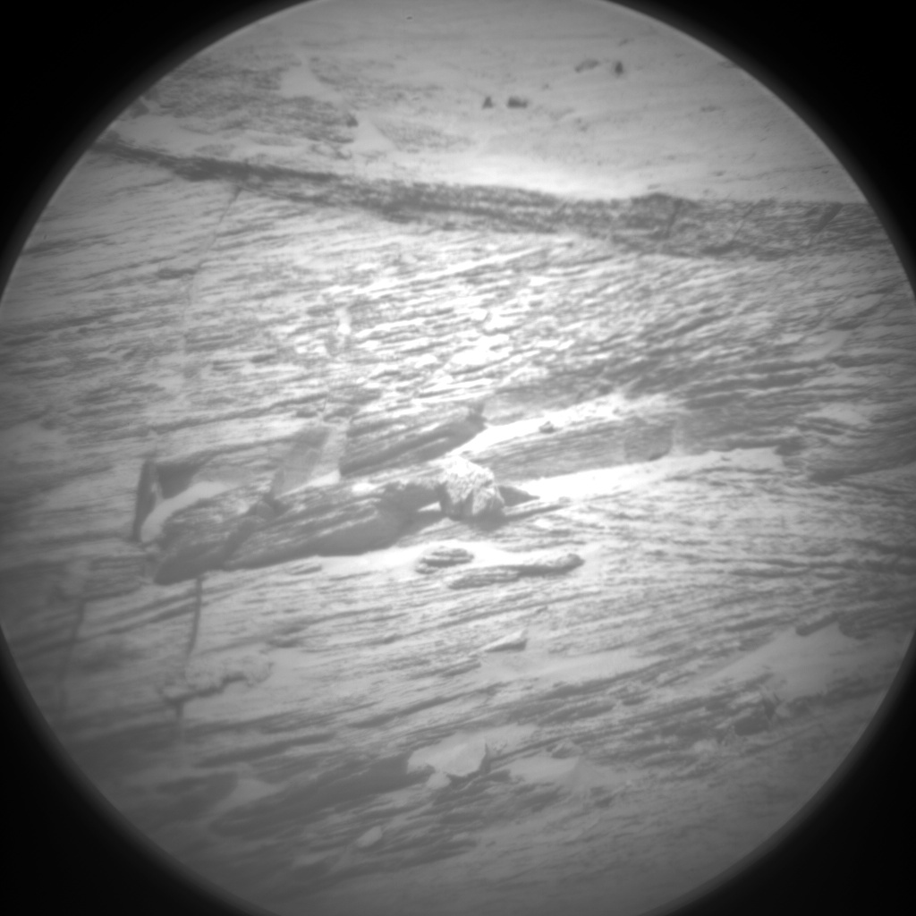 Nasa's Mars rover Curiosity acquired this image using its Chemistry & Camera (ChemCam) on Sol 3219, at drive 0, site number 91
