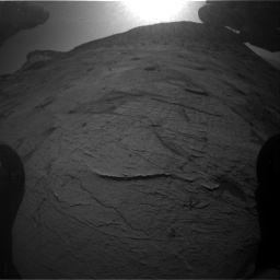 Nasa's Mars rover Curiosity acquired this image using its Front Hazard Avoidance Camera (Front Hazcam) on Sol 3219, at drive 246, site number 91