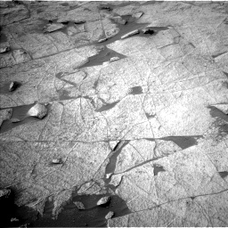 Nasa's Mars rover Curiosity acquired this image using its Left Navigation Camera on Sol 3219, at drive 102, site number 91
