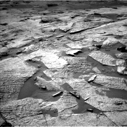 Nasa's Mars rover Curiosity acquired this image using its Left Navigation Camera on Sol 3219, at drive 138, site number 91