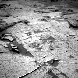 Nasa's Mars rover Curiosity acquired this image using its Left Navigation Camera on Sol 3219, at drive 180, site number 91