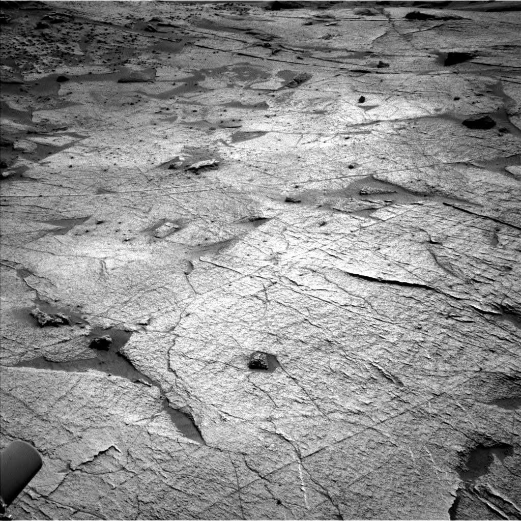 Nasa's Mars rover Curiosity acquired this image using its Left Navigation Camera on Sol 3219, at drive 234, site number 91