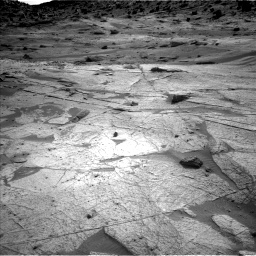 Nasa's Mars rover Curiosity acquired this image using its Left Navigation Camera on Sol 3219, at drive 246, site number 91