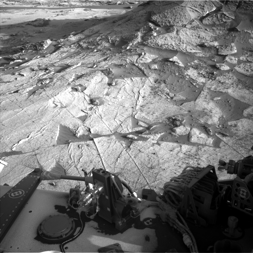 Nasa's Mars rover Curiosity acquired this image using its Left Navigation Camera on Sol 3219, at drive 258, site number 91