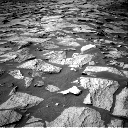 Nasa's Mars rover Curiosity acquired this image using its Right Navigation Camera on Sol 3219, at drive 6, site number 91
