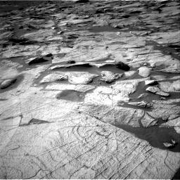 Nasa's Mars rover Curiosity acquired this image using its Right Navigation Camera on Sol 3219, at drive 66, site number 91