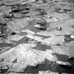 Nasa's Mars rover Curiosity acquired this image using its Right Navigation Camera on Sol 3219, at drive 126, site number 91