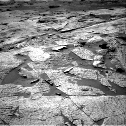 Nasa's Mars rover Curiosity acquired this image using its Right Navigation Camera on Sol 3219, at drive 132, site number 91