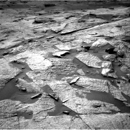 Nasa's Mars rover Curiosity acquired this image using its Right Navigation Camera on Sol 3219, at drive 138, site number 91