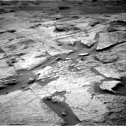 Nasa's Mars rover Curiosity acquired this image using its Right Navigation Camera on Sol 3219, at drive 156, site number 91