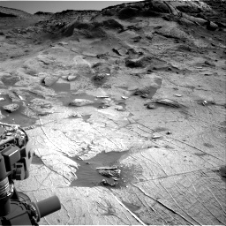 Nasa's Mars rover Curiosity acquired this image using its Right Navigation Camera on Sol 3219, at drive 162, site number 91