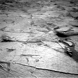 Nasa's Mars rover Curiosity acquired this image using its Right Navigation Camera on Sol 3219, at drive 174, site number 91