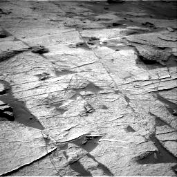 Nasa's Mars rover Curiosity acquired this image using its Right Navigation Camera on Sol 3219, at drive 180, site number 91