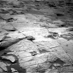 Nasa's Mars rover Curiosity acquired this image using its Right Navigation Camera on Sol 3219, at drive 186, site number 91