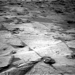Nasa's Mars rover Curiosity acquired this image using its Right Navigation Camera on Sol 3219, at drive 198, site number 91