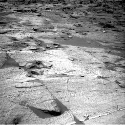 Nasa's Mars rover Curiosity acquired this image using its Right Navigation Camera on Sol 3219, at drive 210, site number 91