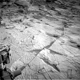 Nasa's Mars rover Curiosity acquired this image using its Right Navigation Camera on Sol 3219, at drive 222, site number 91