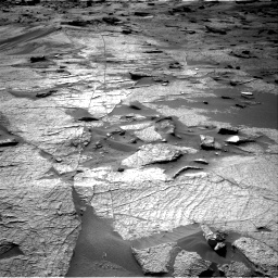 Nasa's Mars rover Curiosity acquired this image using its Right Navigation Camera on Sol 3219, at drive 234, site number 91
