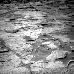 Nasa's Mars rover Curiosity acquired this image using its Right Navigation Camera on Sol 3219, at drive 240, site number 91