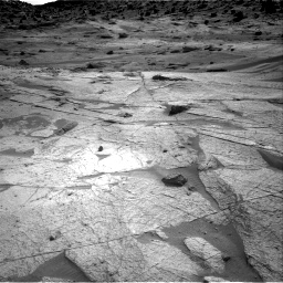 Nasa's Mars rover Curiosity acquired this image using its Right Navigation Camera on Sol 3219, at drive 246, site number 91