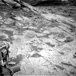 Nasa's Mars rover Curiosity acquired this image using its Right Navigation Camera on Sol 3219, at drive 252, site number 91
