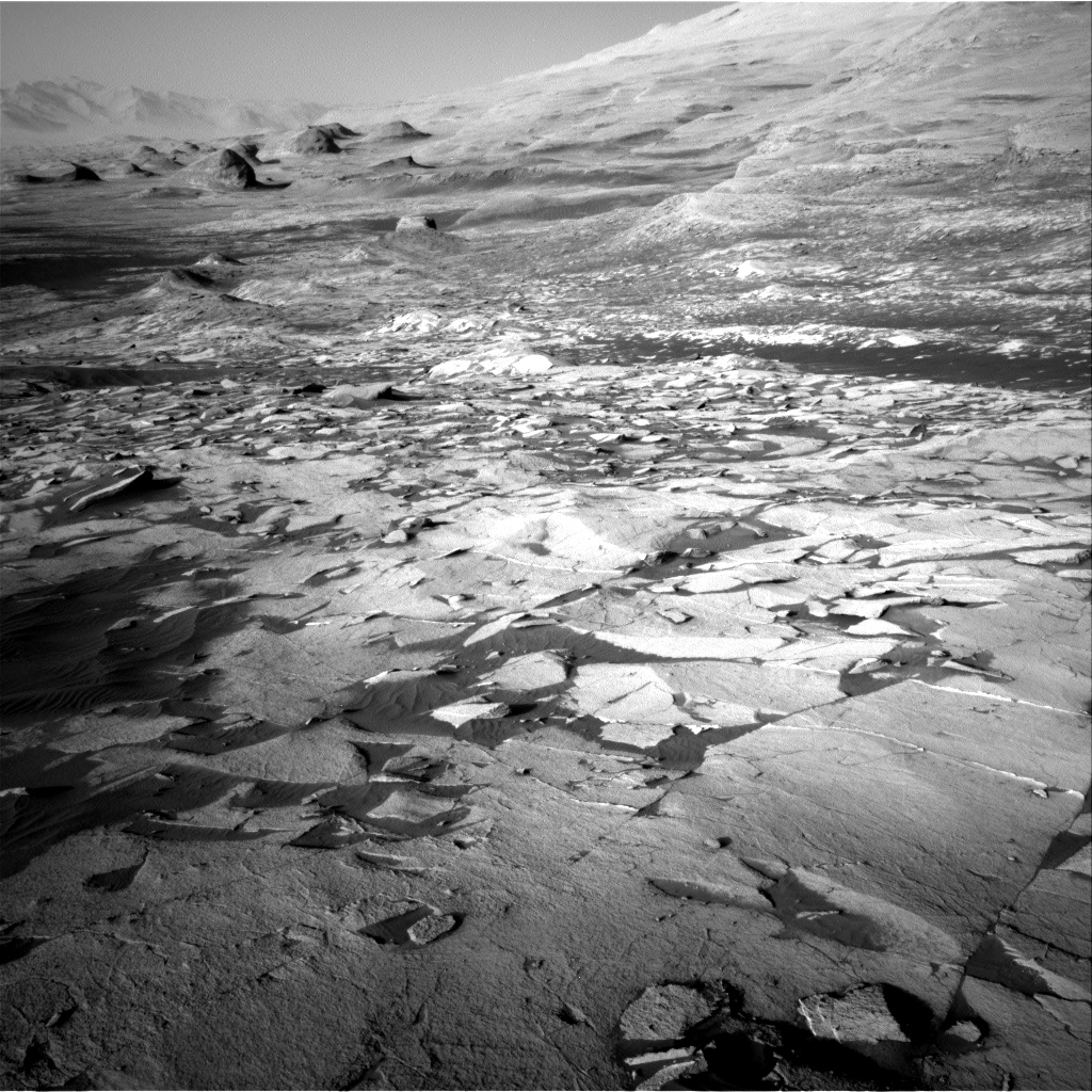 Nasa's Mars rover Curiosity acquired this image using its Right Navigation Camera on Sol 3219, at drive 258, site number 91