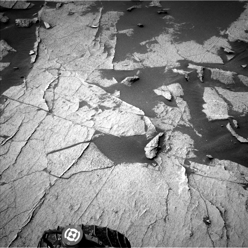 Nasa's Mars rover Curiosity acquired this image using its Left Navigation Camera on Sol 3220, at drive 258, site number 91