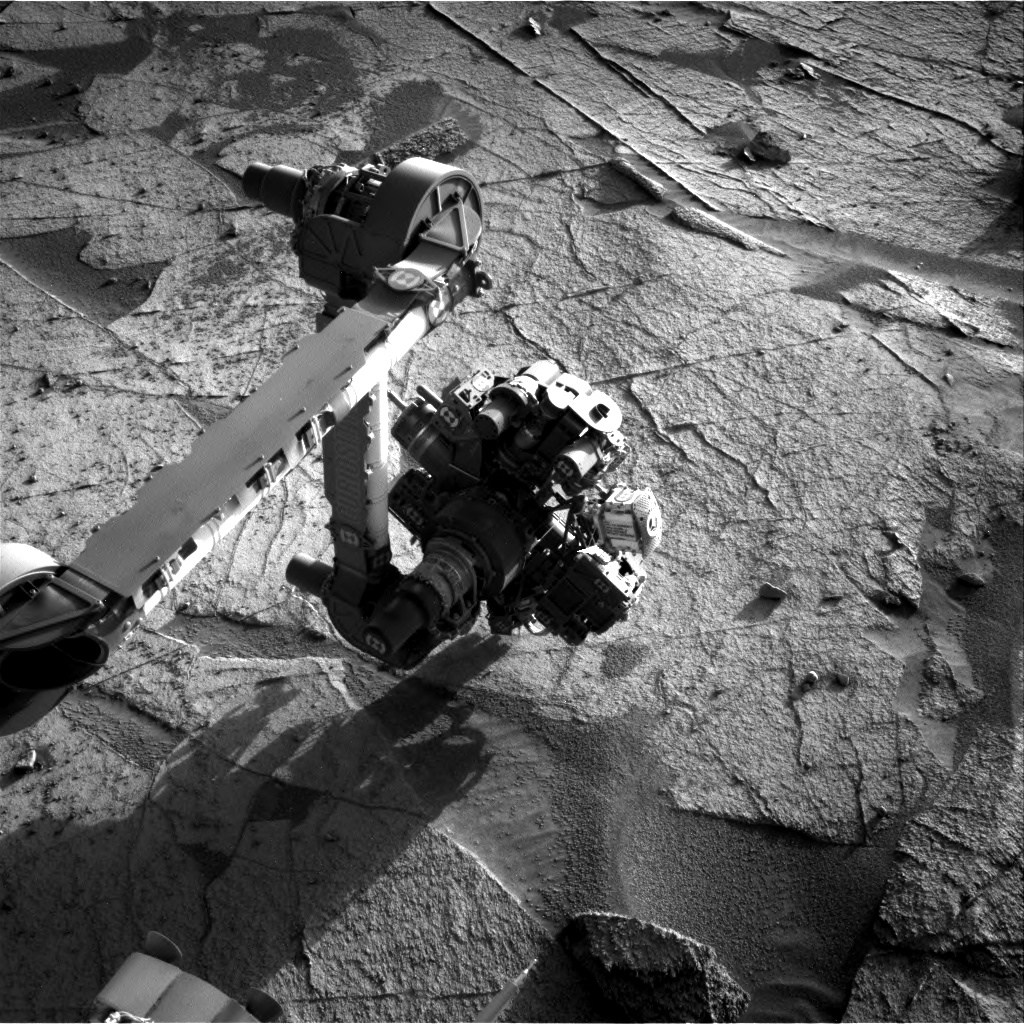 Nasa's Mars rover Curiosity acquired this image using its Right Navigation Camera on Sol 3221, at drive 258, site number 91