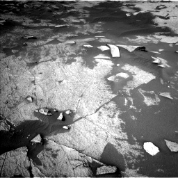 Nasa's Mars rover Curiosity acquired this image using its Left Navigation Camera on Sol 3222, at drive 312, site number 91