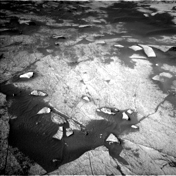 Nasa's Mars rover Curiosity acquired this image using its Left Navigation Camera on Sol 3222, at drive 318, site number 91