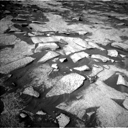 Nasa's Mars rover Curiosity acquired this image using its Left Navigation Camera on Sol 3222, at drive 348, site number 91