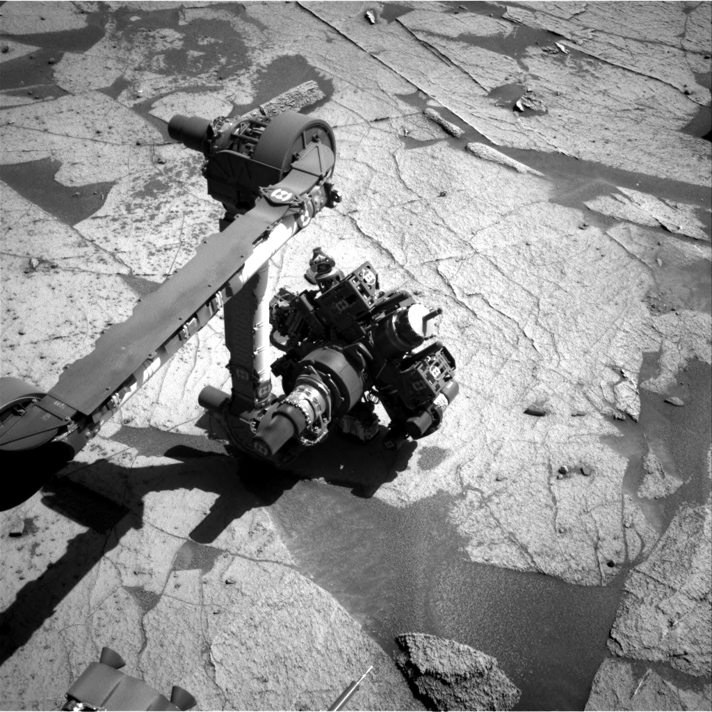 Nasa's Mars rover Curiosity acquired this image using its Right Navigation Camera on Sol 3222, at drive 258, site number 91
