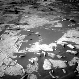 Nasa's Mars rover Curiosity acquired this image using its Right Navigation Camera on Sol 3222, at drive 264, site number 91