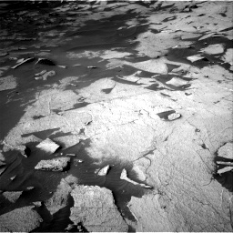Nasa's Mars rover Curiosity acquired this image using its Right Navigation Camera on Sol 3222, at drive 276, site number 91