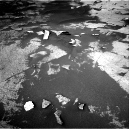 Nasa's Mars rover Curiosity acquired this image using its Right Navigation Camera on Sol 3222, at drive 306, site number 91