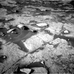 Nasa's Mars rover Curiosity acquired this image using its Right Navigation Camera on Sol 3222, at drive 336, site number 91