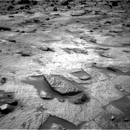Nasa's Mars rover Curiosity acquired this image using its Right Navigation Camera on Sol 3222, at drive 348, site number 91