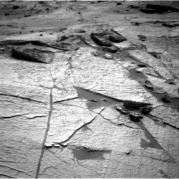 Nasa's Mars rover Curiosity acquired this image using its Right Navigation Camera on Sol 3222, at drive 372, site number 91
