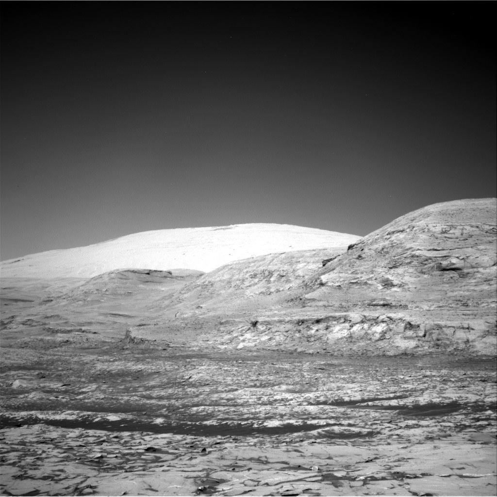 Nasa's Mars rover Curiosity acquired this image using its Right Navigation Camera on Sol 3222, at drive 390, site number 91