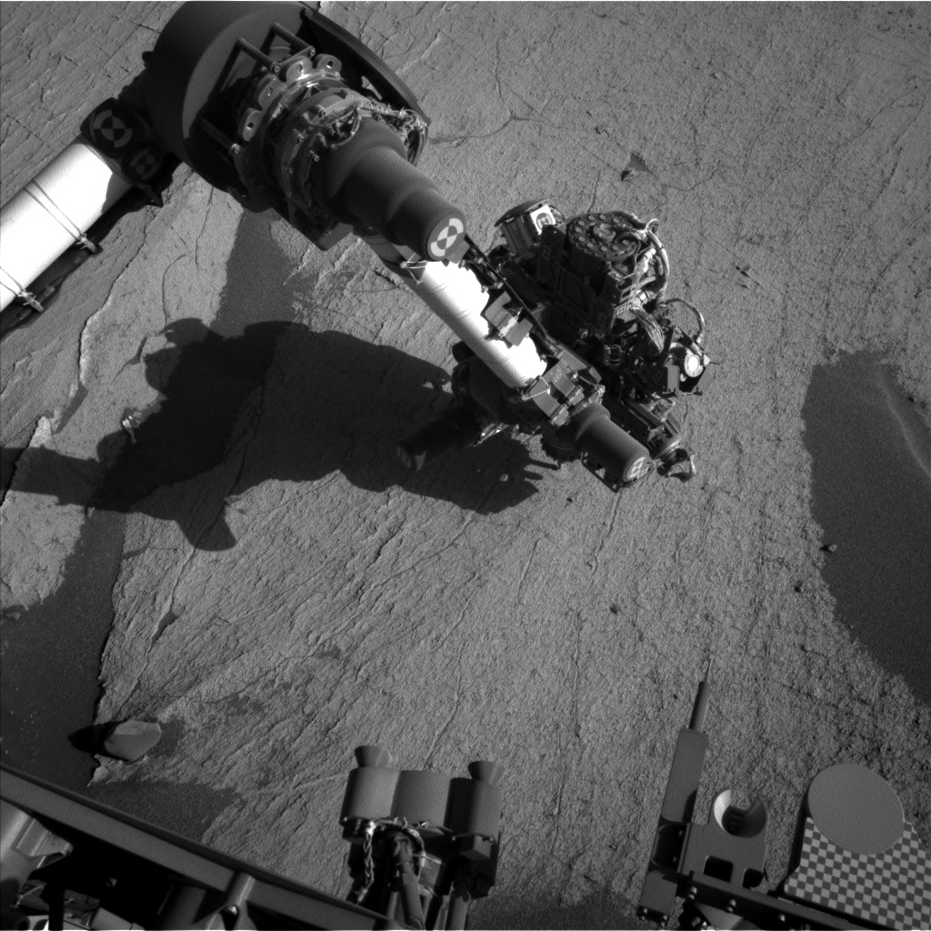 Nasa's Mars rover Curiosity acquired this image using its Left Navigation Camera on Sol 3224, at drive 390, site number 91