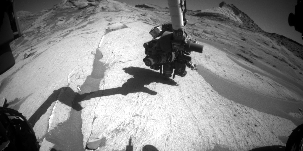 Nasa's Mars rover Curiosity acquired this image using its Front Hazard Avoidance Camera (Front Hazcam) on Sol 3229, at drive 390, site number 91