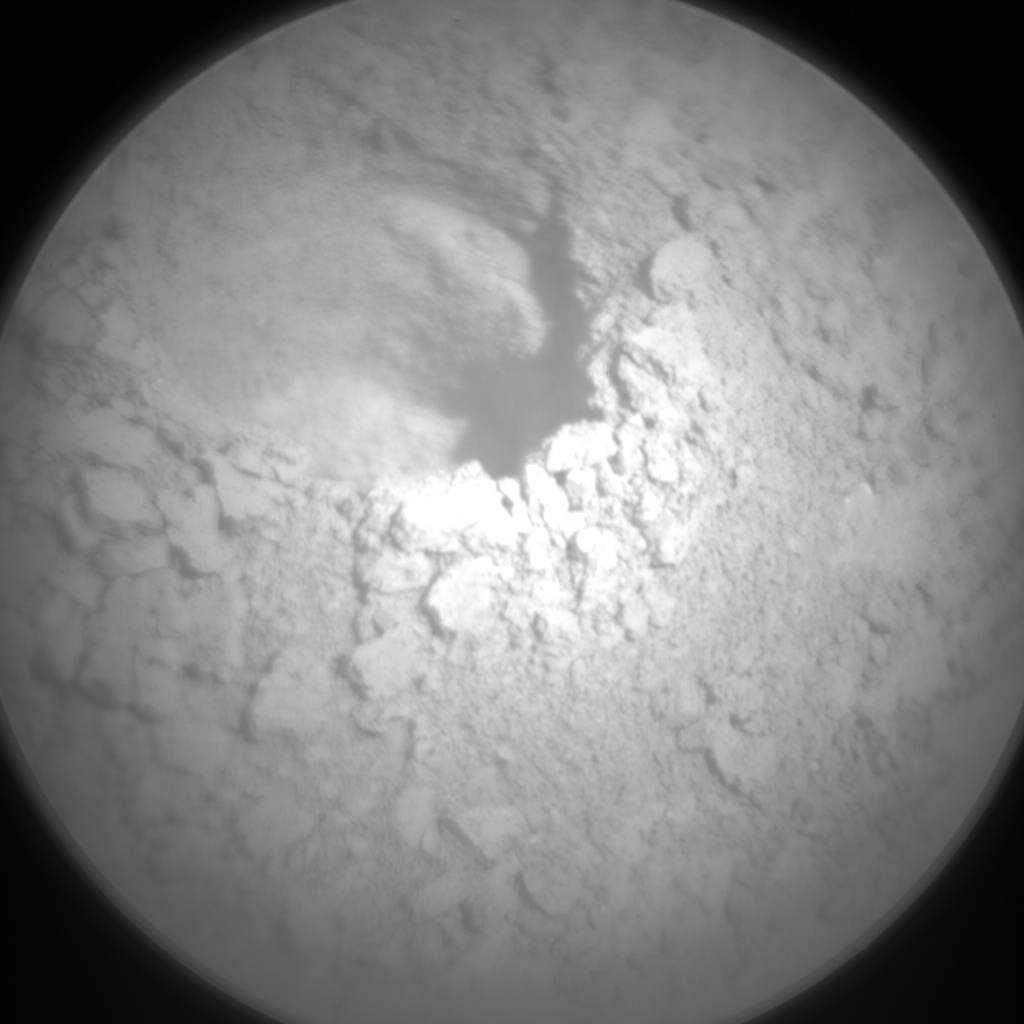 Nasa's Mars rover Curiosity acquired this image using its Chemistry & Camera (ChemCam) on Sol 3230, at drive 390, site number 91