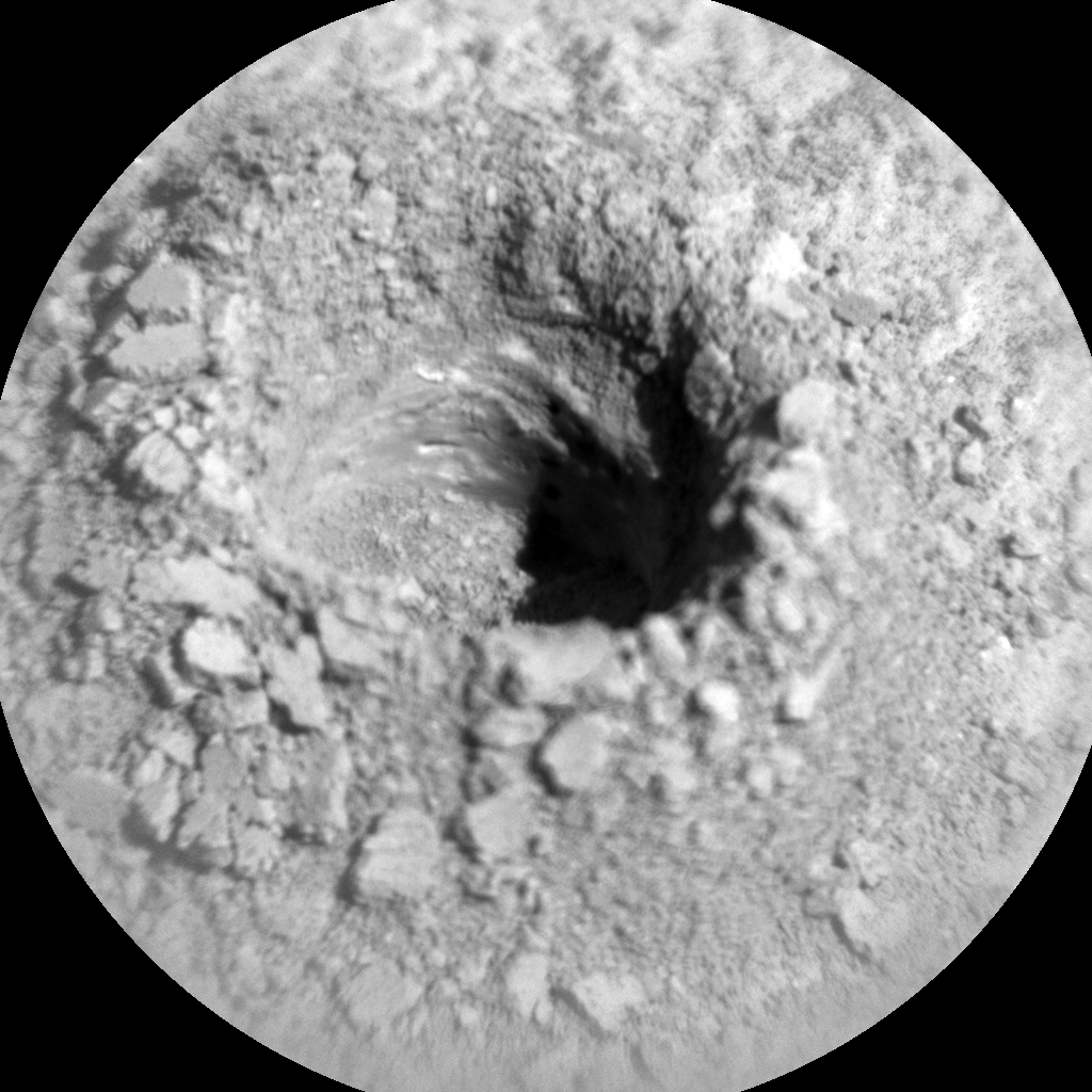 Nasa's Mars rover Curiosity acquired this image using its Chemistry & Camera (ChemCam) on Sol 3232, at drive 390, site number 91