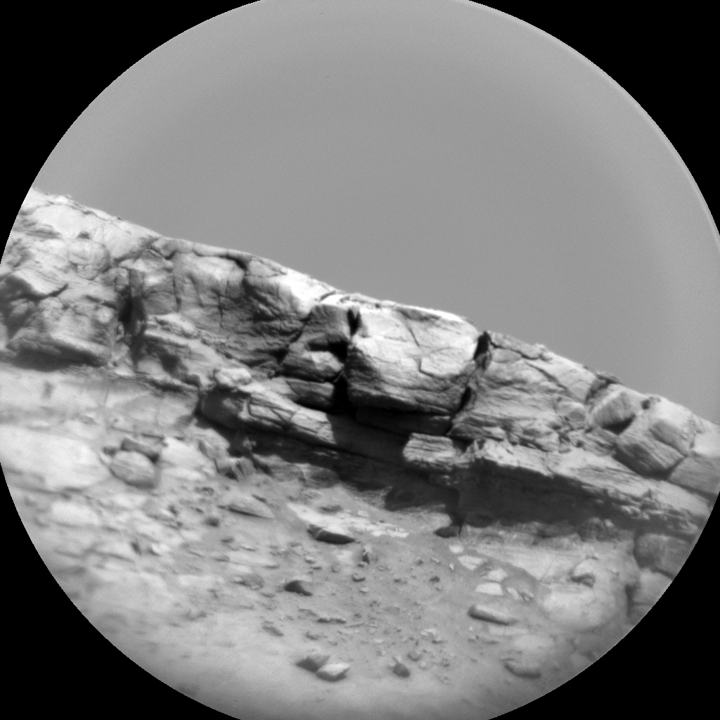 Nasa's Mars rover Curiosity acquired this image using its Chemistry & Camera (ChemCam) on Sol 3233, at drive 390, site number 91