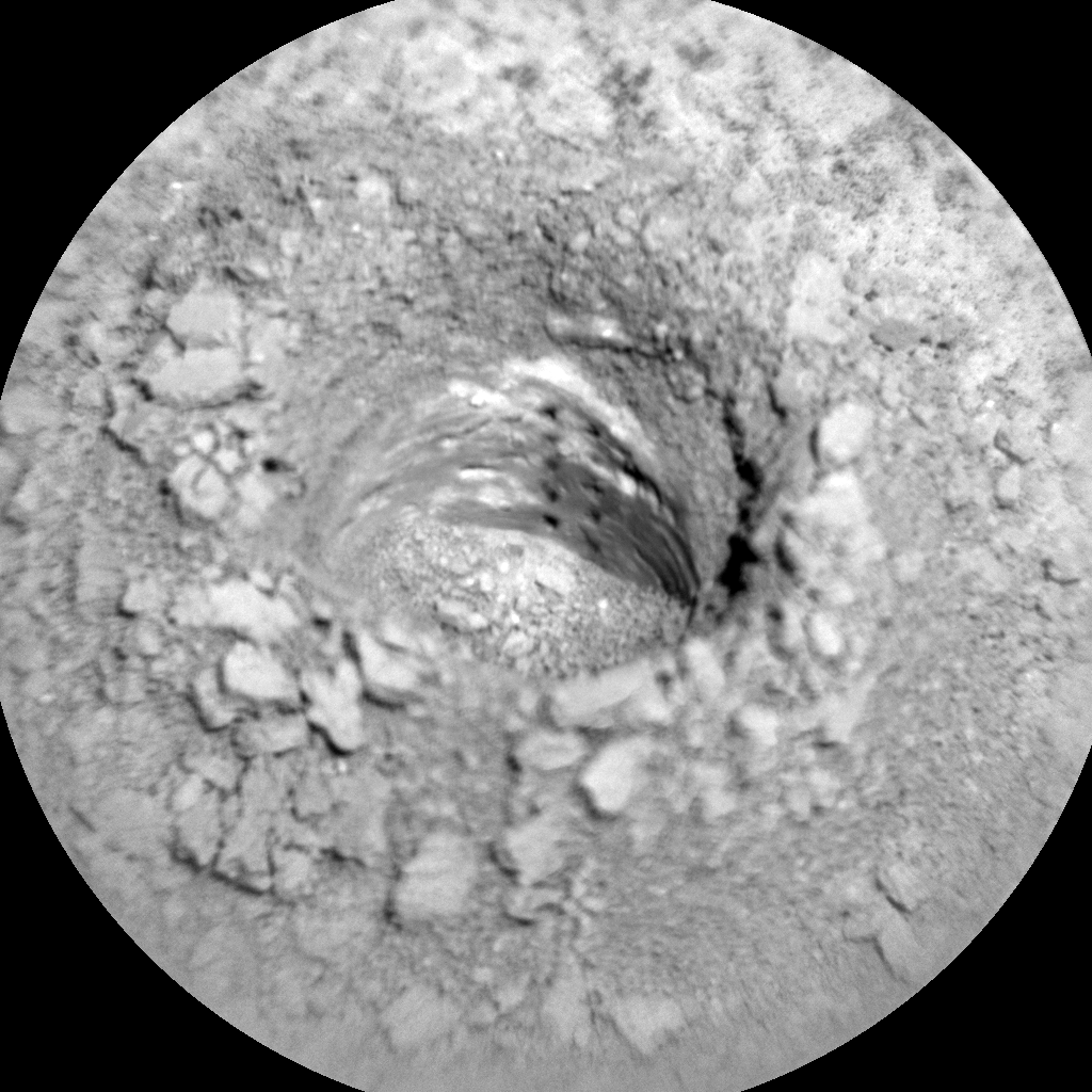 Nasa's Mars rover Curiosity acquired this image using its Chemistry & Camera (ChemCam) on Sol 3238, at drive 390, site number 91